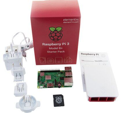 Набор Raspberry Pi 3 Model B+ Starter Kit