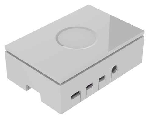 Корпус для Raspberry Pi 4 Model B Case White Белый